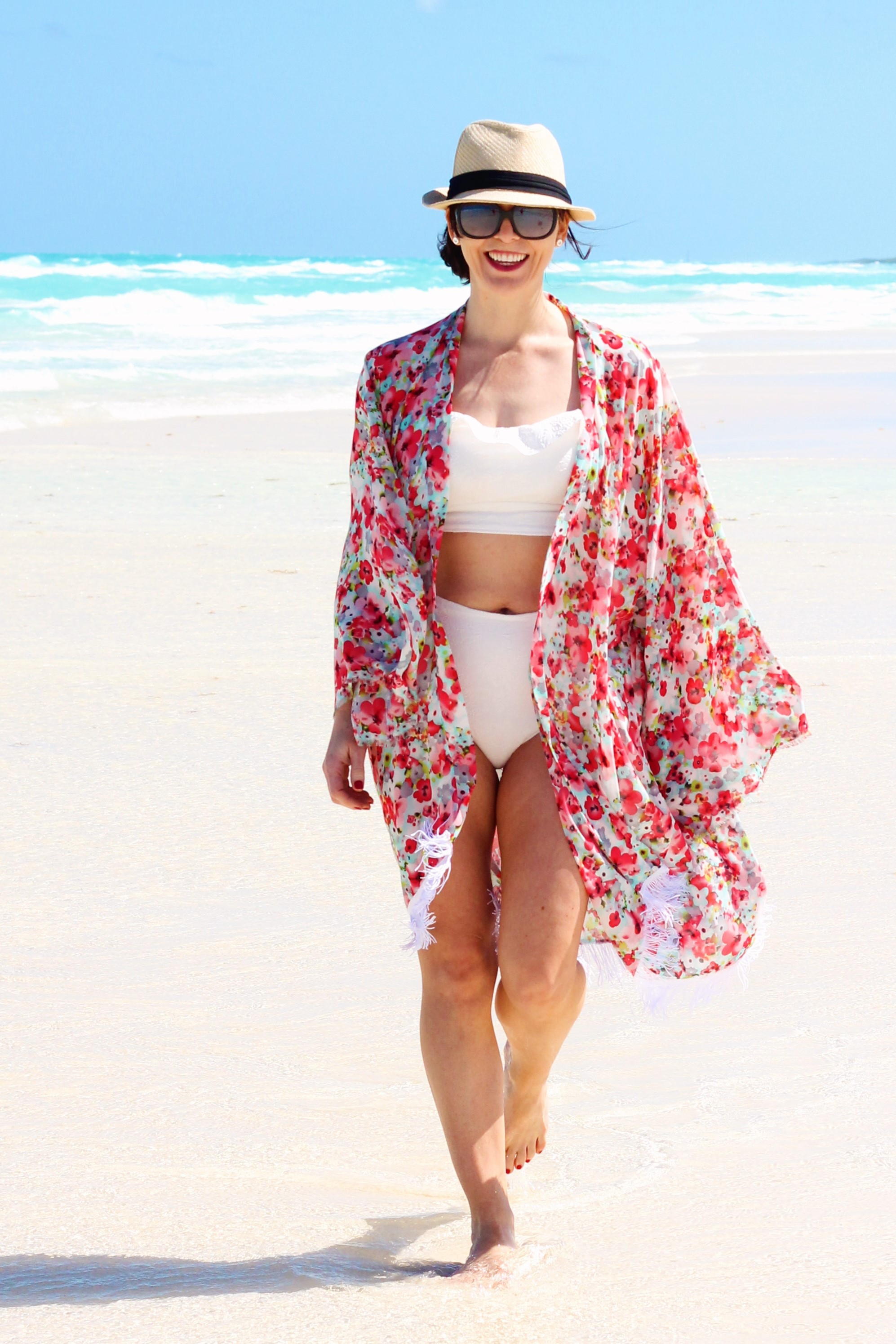 floral coverup