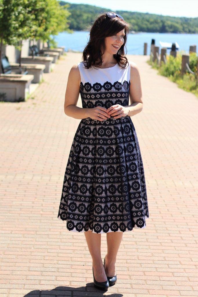 vogue lace dress